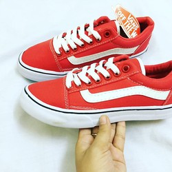 Vans old skool đỏ