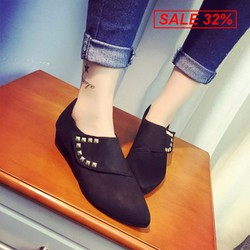 Giày bot lười cổ thấp