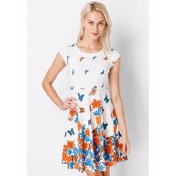 Đầm xòe Vintage họa tiết hoa bướm