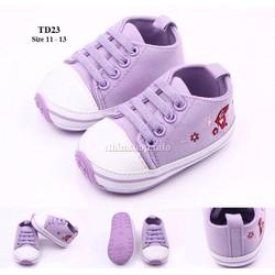 Giày tập đi cho bé gái 0 - 18 tháng TD23