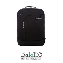 Balo153-Balo đựng laptop 17inch Simplecarry A-city Black