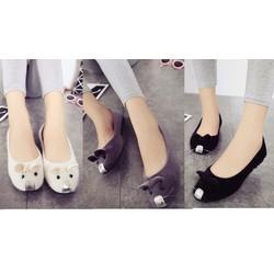 Giày búp bê con chuột