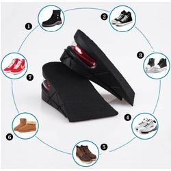 Lót giày tăng chiều cao đệm khí nửa bàn L4, tăng từ 3-5cm