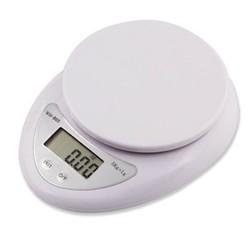 Cân điện tử thực phẩm cho nhà bếp từ 5kg-1g và 2 pin AA