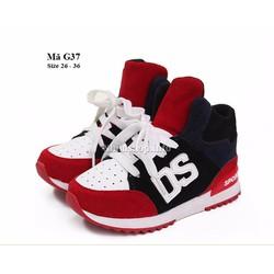 Giày cổ cao cho bé 3 - 12 tuổi kiểu dáng thể thao cá tính G37