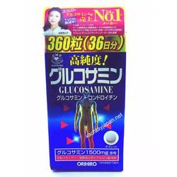 Thuốc bổ xương khớp Glucosamine Orihiro 360v