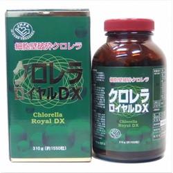 Tảo xanh Chlorella Royal DX Nhật Bản 1550 viên