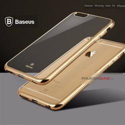 Ốp lưng Baseus nhựa dẻo mạ crom Iphone 6 Plus