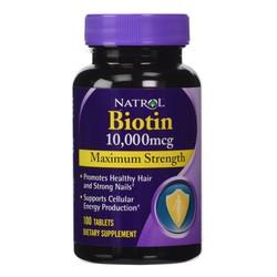 Thuốc hỗ trợ mọc tóc Biotin của Mỹ 100viên