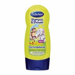 Sữa tắm và gội chung rừng nhiệt đới Bübchen 230ml