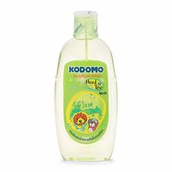 bộ 2 dầu tắm gội toàn thân cho bé Kodomo 200ml