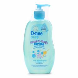 Tắm gội toàn thân cho bé D-nee Pure 380ml