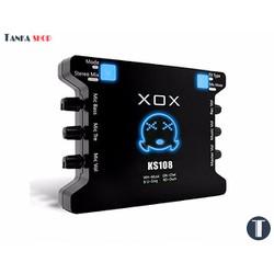 Sound card hát live USB XOX KS108