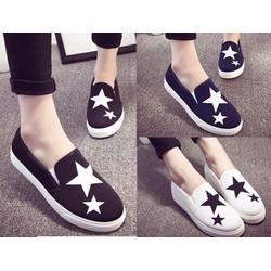 Giày slip on ngôi sao