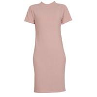 Áo váy đầm len mỏng dáng dài midi ngắn tay cổ tròn ZENKO CS3 061 BP