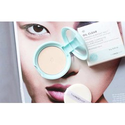 Phấn phủ Oil Clear Smooth  Bright Pact The Face Shop
