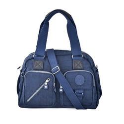 Túi xách Kipling hai hộp trước màu xanh đen