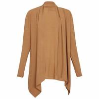 Áo Khoác Mỏng Nhẹ Nữ Cardigan Vạt Dài Cánh Dơi CARDIGAN NU 003 BR