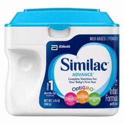 Sữa Similac Advance bổ sung DHA và ARA giúp phát triển trí não