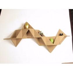 Kệ treo trang trí tam giác K19