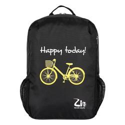 Balo thời trang in hình xe đạp Simplecarry Z191601-C