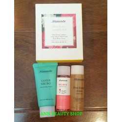 Mamonde Skin Care Sample Kit  2016