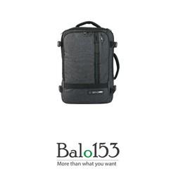 Balo153- Balo, túi đeo chéo, vali 3 trong 1 màu Grey