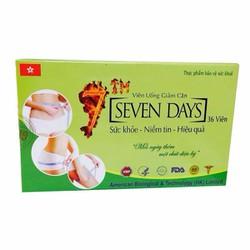 Viên giảm cân Sevendays - Giảm cân hiệu quả trong 7 ngày.