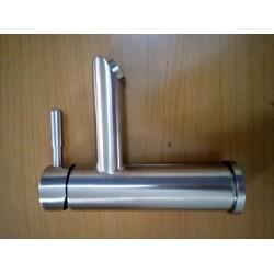 vòi nước bồn rửa tay nóng lạnh inox sus 304