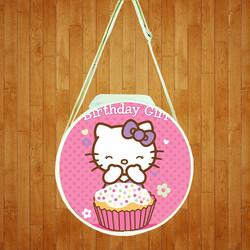 Túi đeo chéo hình tròn Hello Kitty