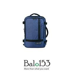 Balo153- Balo, túi đeo chéo, vali 3 trong 1 màu Navy