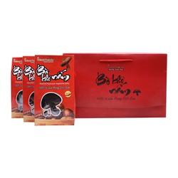 Hộp quà nấm hương giả khô bò Ideal Foods 3 hộp nhỏ x 150g