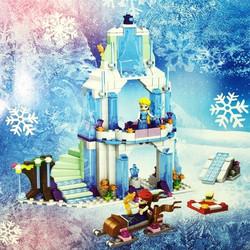 Bộ xếp hình lâu đài Nữ hoàng băng giá Elsa Vương Quốc Arendelle