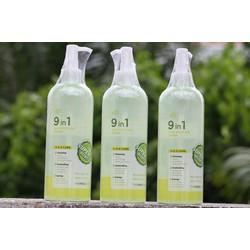 Nước hoa hồng  9in1 Skin Solution Toner THE FACE SHOP