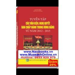 Sách: Tuyển tập các văn kiện nghị quyết ban chấp hành Trung Ương Đảng