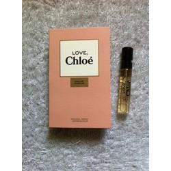 Nước hoa Vial Love Chloe Eau De Parfum