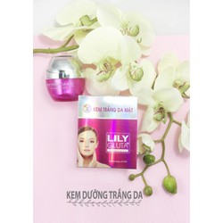Kem trắng da 3D-Collagen Plus Lily Gluta