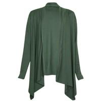 Áo khoác mỏng nhẹ nữ cardigan vạt dài cánh dơi ZENKO CS3 003 DGR