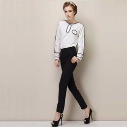 HÀNG LOẠI 1 - Sét quần dài + áo viền cá tính