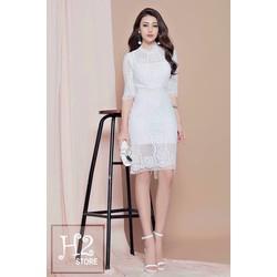 Đầm body ren thiết kế CTH174