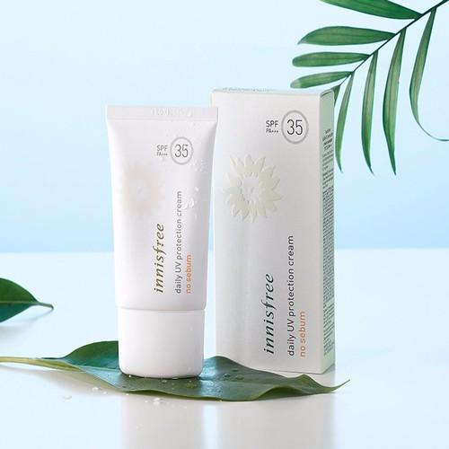 Kem Chống Nắng Innisfree Daily UV Protection Cream No Sebum SPF 35