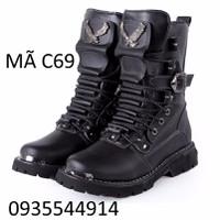 Giày bốt nam cao cấp mẫu mới 2016 C69