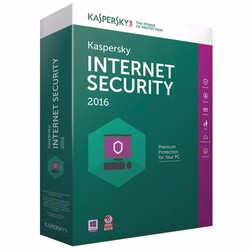Phần mềm diệt virus Kaspersky Internet Security 2016 1PC 1 năm