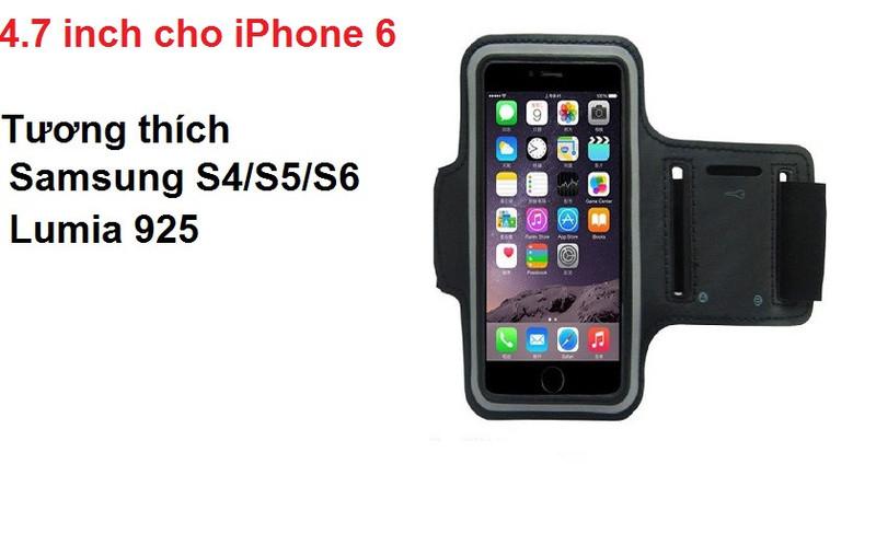Đai đeo tay tập thể dục cho smartphone điện thoại iPhone 5.5 inch 16