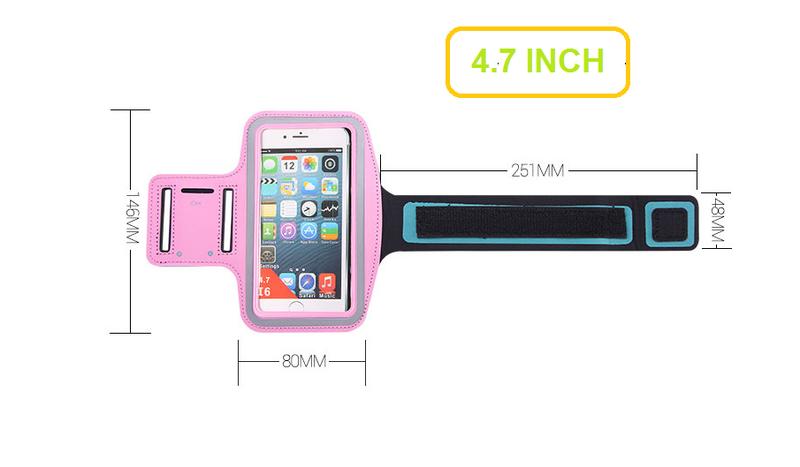Đai đeo tay tập thể dục cho smartphone điện thoại iPhone 5.5 inch 4