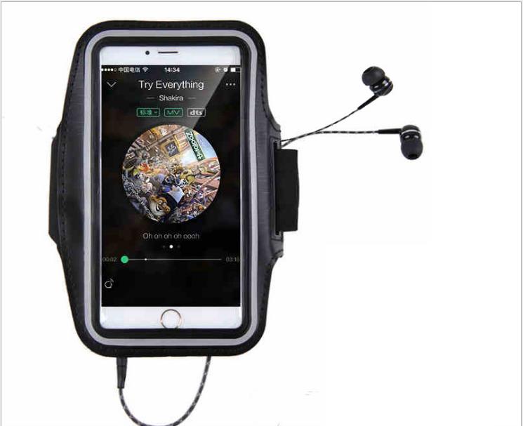 Đai đeo tay tập thể dục cho smartphone điện thoại iPhone 5.5 inch 6