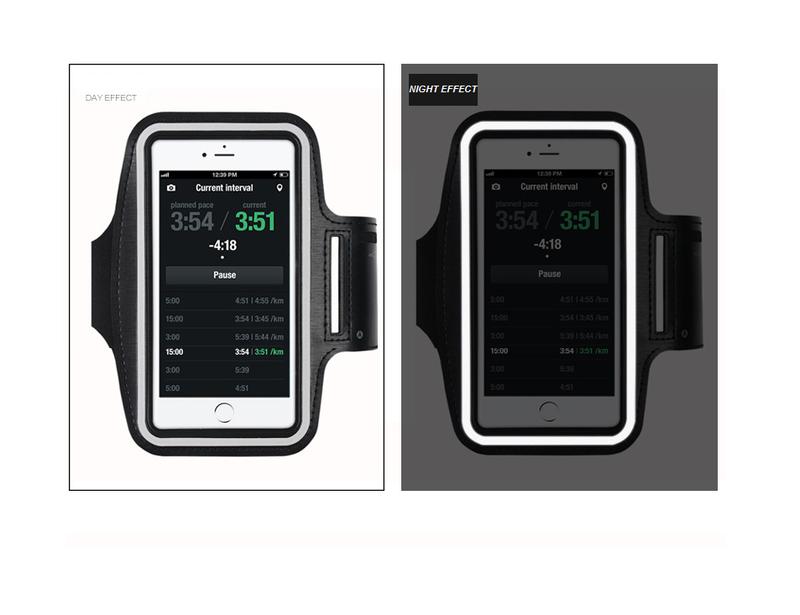 Đai đeo tay tập thể dục cho smartphone điện thoại iPhone 5.5 inch 11