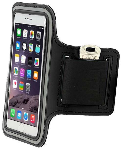 Đai đeo tay tập thể dục cho smartphone điện thoại iPhone 5.5 inch 12