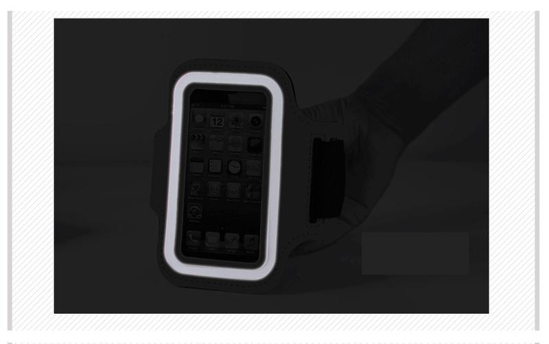 Đai đeo tay tập thể dục cho smartphone điện thoại iPhone 5.5 inch 10