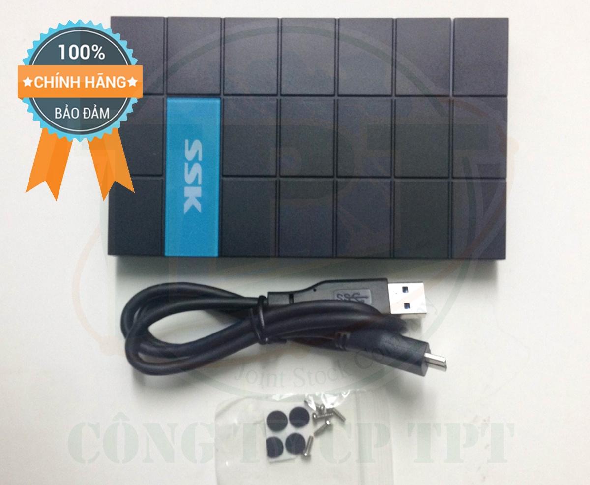 Hộp đựng ổ cứng VT BOX 2.5 SSK SHE 080 SATA 3.0 1